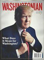 Donald Trump Washingtonian Magazine Climate Change Christopher Barry Flying Dog