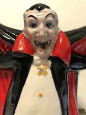 Fitz & Floyd Dracula Vampire Pitcher Halloween