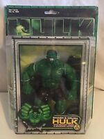Hulk The Motion Picture Smash & Crush Hulk Marvel Action Figure ToyBiz NIB 2003