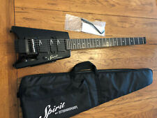 STEINBERGER SPIRIT GT-PRO DELUXE Used Black with gig bag, 3 sets of strings