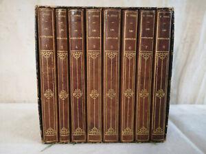 COFFRET 8 LIVRES tomes LES MISERABLES VICTOR HUGO J Hetzel Paris collection C2