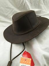 Jacky's Genuine Leather Western Cowboy Hat