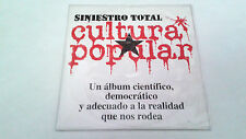 "SINIESTRO TOTAL ""CULTURA POPULAR"" CD SINGLE 4 TRACKS"