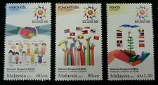 Malaysia Chairman Of ASEAN 2015 Flag Culture Traditional Costume (stamp) MNH