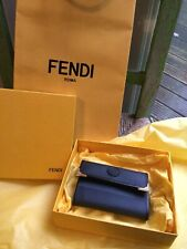 Designer Fendi Rare Small Leather Notebook & Pen Shopping List - Box & Gift Bag