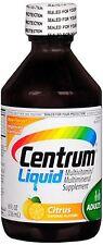 Centrum Multivitamin/Multimineral, Liquid 8 oz (Pack of 9)