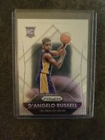2015 Panini Prizm D'Angelo Russell ROOKIE RC #322