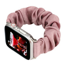 For iWatch Apple Watch Soft Scrunchie Loop Strap Band Series 5/4/3/2/1 38-42MM