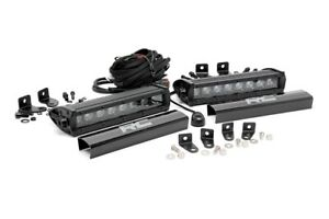 """Rough Country 8"""" LED Grille Kit (fits) 2017 Ford F250 Lariat 