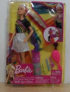 NEW Mattel Barbie️ Rainbow Sparkle Hair Doll Toy