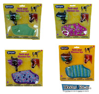 Breyer Classics Horse Model Tack / Blanket and Bridle Play Set Assorted 61129