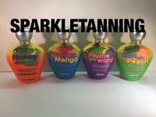 SUPRE TAN Honey Mango Plums Peach Indoor Tanning Bed Lotion LOT 4 RETAIL $191