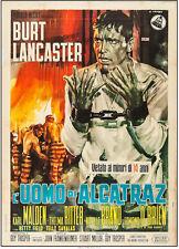 BIRDMAN OF ALCATRAZ ORIGINAL VINTAGE MOVIE POSTER BURT LANCASTER