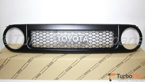 Toyota FJ Cruiser 2007-2014 Trail Teams Black Front GrilleGenuine 53100-35B00