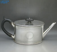 ANTIQUE VICTORIAN WONDERFUL SOLID STERLING SILVER TEAPOT BY ELKINGTON & CO, 1879