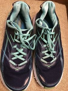 HOKA ONE ONE Clifton 3 Blue /teal Women's, size 8.5