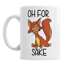 For Fox Sake Funny Novelty Office Coffee Mug Gift Tea Cup Present