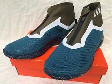 Adidas AlphaBounce 5.8 Zip BW1387 Petrol Ultra Marathon Running Shoes Men's 11.5