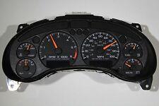 2000-04 6k rpm REMAN S10 TRUCK BLAZER JIMMY COMPLETE CLUSTER FITS COLUMN SHIFT