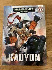 Warhammer 40k Damocles kauyon hard cover set tau