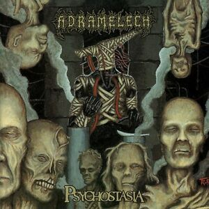 ADRAMELECH - Psychostasia - CD - DEATH METAL