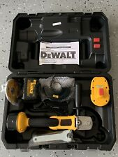 DeWALT Cordless Cut-Off Tool. Lithium Battery's