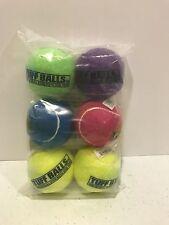 Petsport Tuff Balls Bulk 70047 6 Pack Multicolor