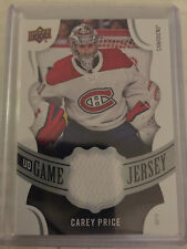 2018-19 UD SERIES 1 Carey Price Game Jersey GJ-CP CANADIENS