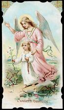 santino cromo-holy card  ANGELO CUSTODE 12
