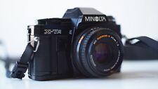 Minolta X-7A 35mm SLR Film Camera with 45mm F2 lens