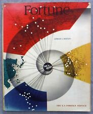 FORTUNE Magazine July 1946 Vol XXXIV No 1 US Foreign Service US Debt The Yankees