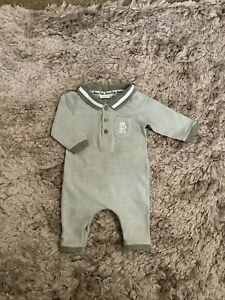 RIVER ISLAND BABY BOYS 0-3 MONTHS ROMPER, OUTFIT 💚COMBINE POST