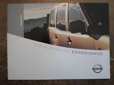 NISSAN TERRANO orig 2002 UK Mkt Sales Brochure - S SE SVE