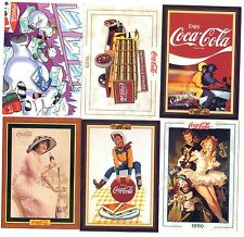 COCA COLA Lot de 6 Cartes NEUVES DIFFERENTES Lot N° CCLA 15