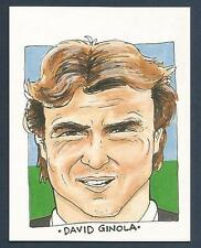 MIS-SPENT YOUTH-TOON TRADERS-1995 #18-NEWCASTLE UNITED-PSG & FRANCE-DAVID GINOLA