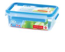 EMSA 508540 Clip & Close Rectangular Food Storage Container 1 Litre