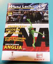 programme EL Lech Poznan Poland Manchester City England