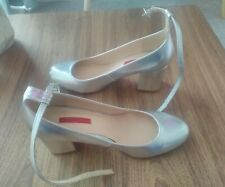 silver dancing shoes by atmosphere size 8