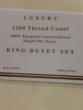 Westport Home Luxury 1200Tc Egyptian Cotton King Size Duvet Single-play
