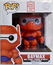 "BAYMAX Marvel Big Hero 6 Pop Movies 6"" inch Vinyl Figure #112 Funko 2014"