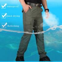 Herren Cargohose Arbeitshose Taschenoverall Outdoorhose Freizeithose Pants Hose