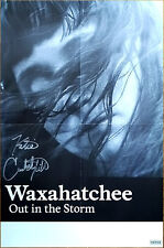 WAXAHATCHEE Out In The Storm 2017 Ltd Ed Signed By Katie Crutchfield RARE Poster