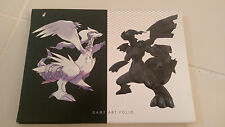 POKEMON BLACK and WHITE GAME ART FOLIO SET OF 15 PRINTS! BRAND NEW SET