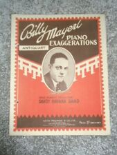 Antiquary Billy Mayerl Sheet Music 1928