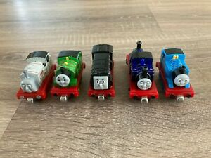 Take N Play 5 Train Bundle From Thomas The Tank Engine Mighty Mac Percy Toy #14