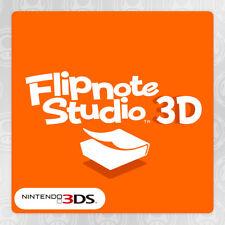 Nintendo 3DS USA / CAN Flipnote Studio 3D Eshop Digital Code