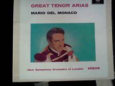 GREAT TENOR ARIAS - MARIO DEL MONACO - CD COME NUOVO (MIND) - SLIP CASE