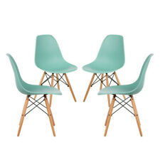 Dining Chair Aqua - Pack of 4. Free Delivery to Ireland & UK.