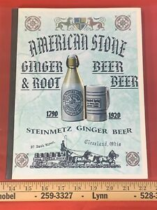 1996 Book AMERICAN STONE GINGER BEER & ROOT BEER 1790-1920 - Yates, Editors