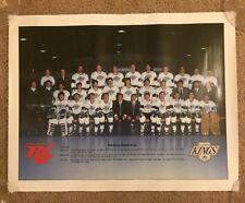 Vintage 1988 / 89 LA Kings Team Poster NHL Hockey